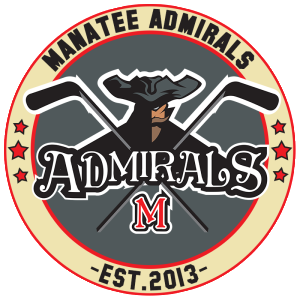 Manatee Admirals Florida High School Hockey Crest