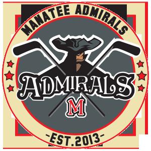 Manatee Admirals Florida High School Hockey Crest