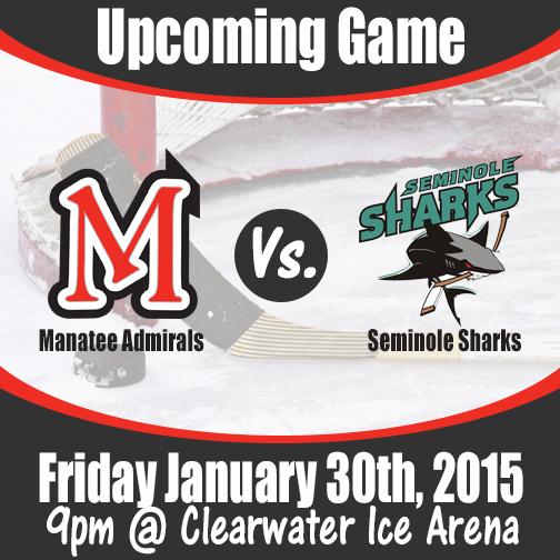 Manatee Admirals Vs. Seminole Sharks 2015