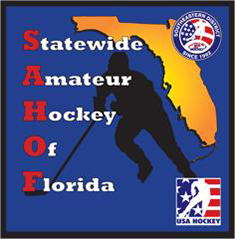 SAHOF Statewide Amateur Hockey of Florida Manatee Admirals
